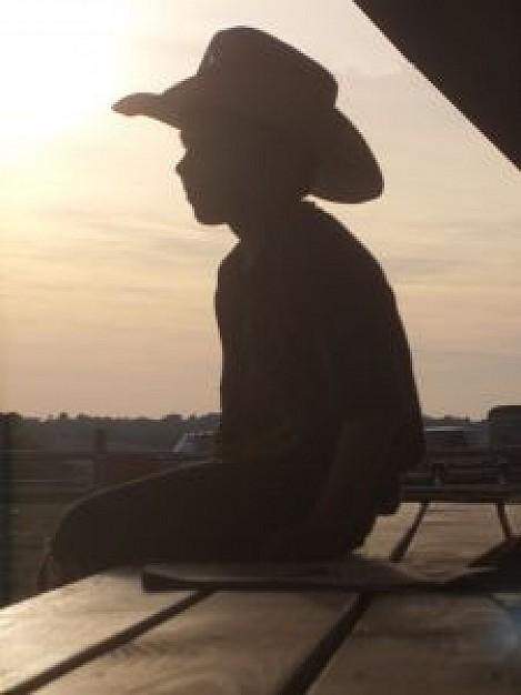 Le garçon au chapeau de cow-boy