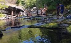 Camprieu : Sortie à la rivière en 2017