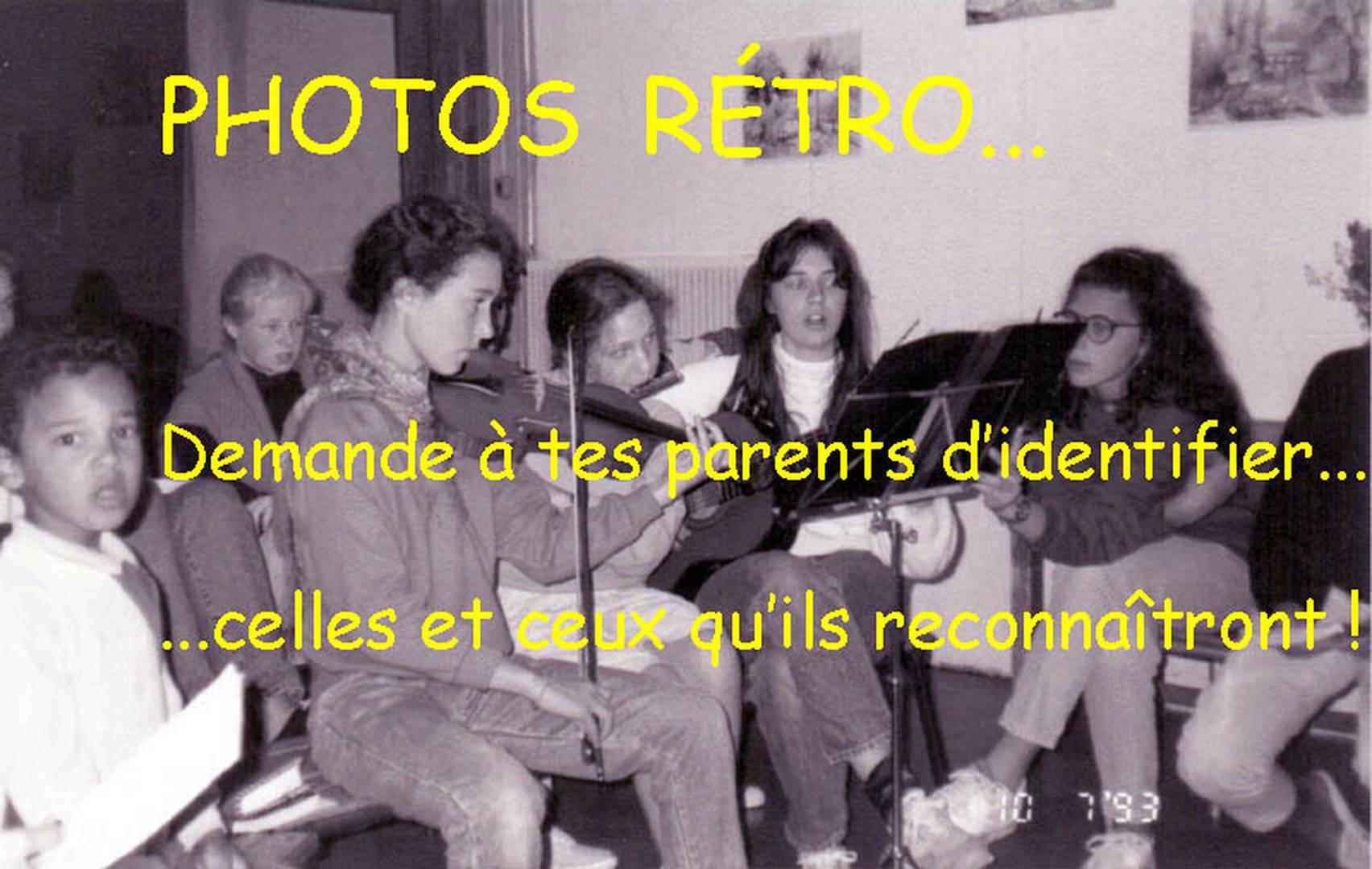 Photos rétros