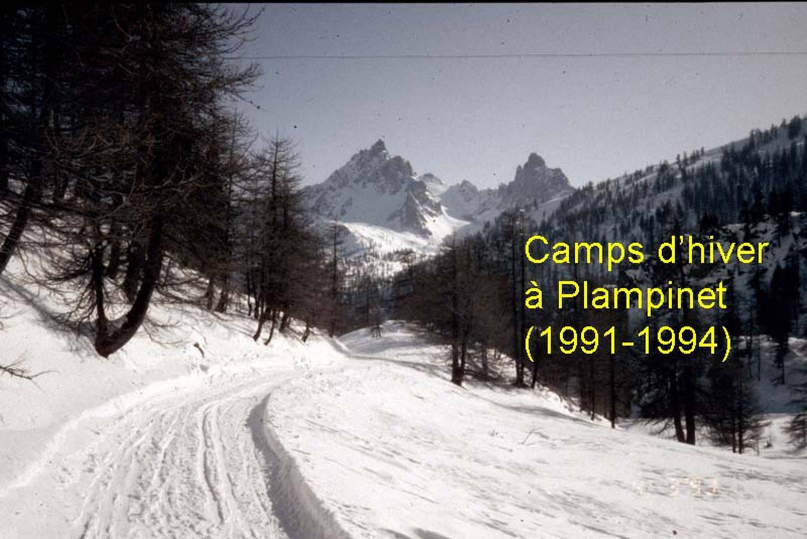 Ski à Plampinet (1991-1994)